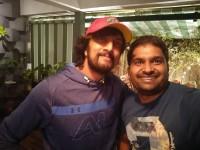 Pavan Wadeyar Met Kiccha Sudeep