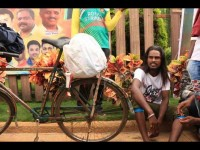Shiva Rajkumar S Die Heart Fan Bicycle Ride From Belagavi To Bangalore