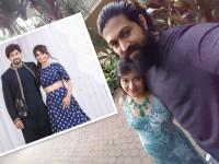 In Pic Kannada Actress Radhika Pandit Flaunts Her Baby Bump