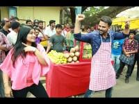 Sada Nimmondige Kannada Actor Dhananjay Sells Moosambi Juice