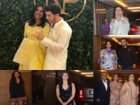 In Pics Celebrities At Priyanka Chopra Nick Jonas Engagement Party