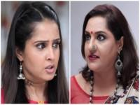 Radha Ramana Serial Rani Challenges Sitara Devi
