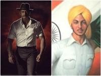 Actor Darshan Played Bhagat Singh Role Inspector Vikram Kannada Movie