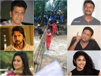Kannada Filmstars Donates To Flood Victims Of Kodagu People