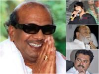 Celebrities Pays Condolence To M Karunanidhi