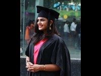 Suhana Saiyad Graduated With Mba