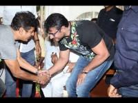 Shiva Rajkumar And Darshan Has Starts Shashi Kumars Son Movie
