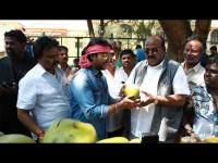 Sada Nimmondige Kannada Actor Prem Sells Tender Coconut