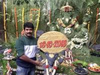 The Villain Kannada Movie Team Calibrated Ganesh Chaturthi Festival