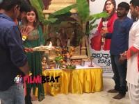 Actress Meghana Raj Ganesh Chaturthi Festival Celebrations