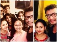 Actor Darshan Celebrated Actress Amulyas Birthday