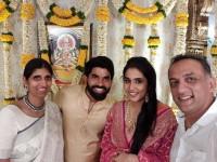 Rajamouli S Son Karthikeya Gets Engaged