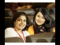 Radhika Has Uploaded Facebook Status A Photo With Priya Sudeep