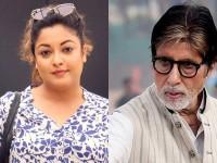Tanushree Dutta Reacts To Amitabh Bachchans Comment