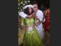 In Pics Prince Narula And Yuvika Chaudhary Mehendi Ceremony