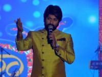 Kannada Actor Yash As Special Guest In Yuva Dasara