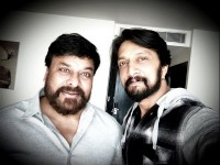 Kiccha Sudeep Is Honoured To Be Sharing Screen Space With Chiranjeevi