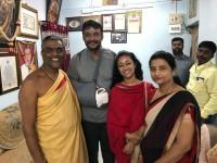 Actor Darshan Visits Chamundeshwari Temple Yesterday