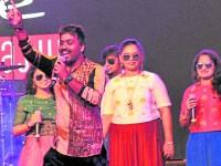 Naveen Sajju Musical Night In Mysuru Yuva Dasara