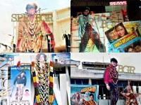 Kannada Actor Shivaraj Kumar Movies Cutout Craze