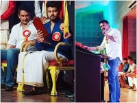 Actor Darshan Celebrated Kannada Rajyotsava In Qatar