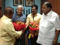 Music Director Hamsalekha Joins To Gandugali Madakari Nayaka Kannada Movie Team