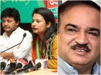 Shilpa Ganesh Ganesh Pays Condolence Ananth Kumar Tweets
