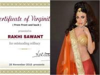 Rakhi Sawant Shares Her Virginity Certificate