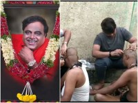 Actor Ambareesh Post Cremation Rituals Done In Kanteerava Studio