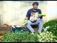 Sada Nimmondige Kannada Actor Rangayana Raghu Sells Vegetables In Vijayanagar