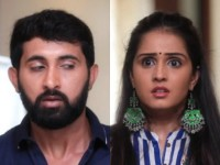 Radha Ramana Serial Rani And Madha Gets Caught In Resort