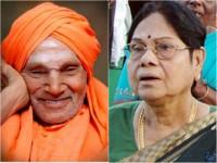 Leelavathi Condolence To Shivakumara Swamiji