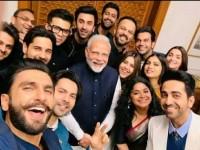 Bollywood Stars Selfi With Pm Modi