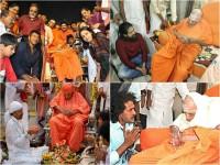 Puneeth Rajkumar Condolence To Shivakumara Swamiji
