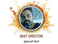 Filmibeat Kannada Awards 2018 Best Director Prashanth Neel Readers Choice