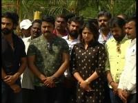 Bell Bottom Movie Team Visits Soldier Gurus Family