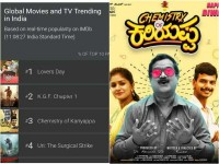 Chemistry Of Kariyappa In Imdb List