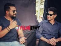 Actor Sri Murali Met Mahesh Baabu