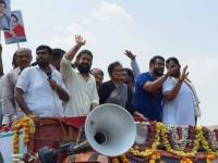 Yash Participated In Sumalatha Ambarish Election Roadshow In Mandya