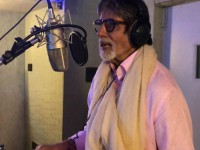 Bollywood Actor Amitabh Bachchan Singing A Song For Kannada Movie Butterfly