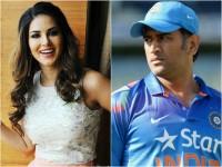 Sunny Leone Favourite Cricketer Ms Dhoni