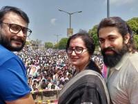 Sumalatha Ambarish Thank To Darshan And Yash Fans