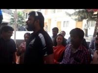 Darshan Cast Their Vote In Rr Nagar