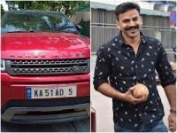 Dhananjay Range Rover Car Number