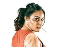 Actress Pooja Gandhi Playing Lead Role In Samharini Kannada Movie