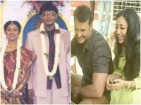 Darshan And His Wife Vijayalakshmi Celebrated Their 16th Wedding Anniversary