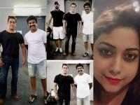 Sudeep And Prem Share Photo With Actor Salman Khan