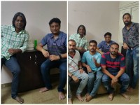 K P Srikanth Kick Starts A Duniya Vijay Starrer Salaga Film
