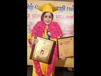 Rekha Das Receives Doctorate From Tamil University