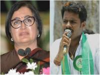 Sumalatha Vote Divited For Three Sumalatha In Mandya Lok Sabha Constituency